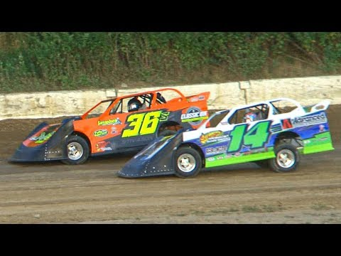 Super 6 Late Model Heat One | Genesee Speedway | 8-10-19