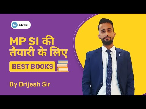 Books preferred  for Mp police Sub Inspector