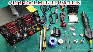 Review Saike 220V 909D - 4 in 1 Tool Multi-function