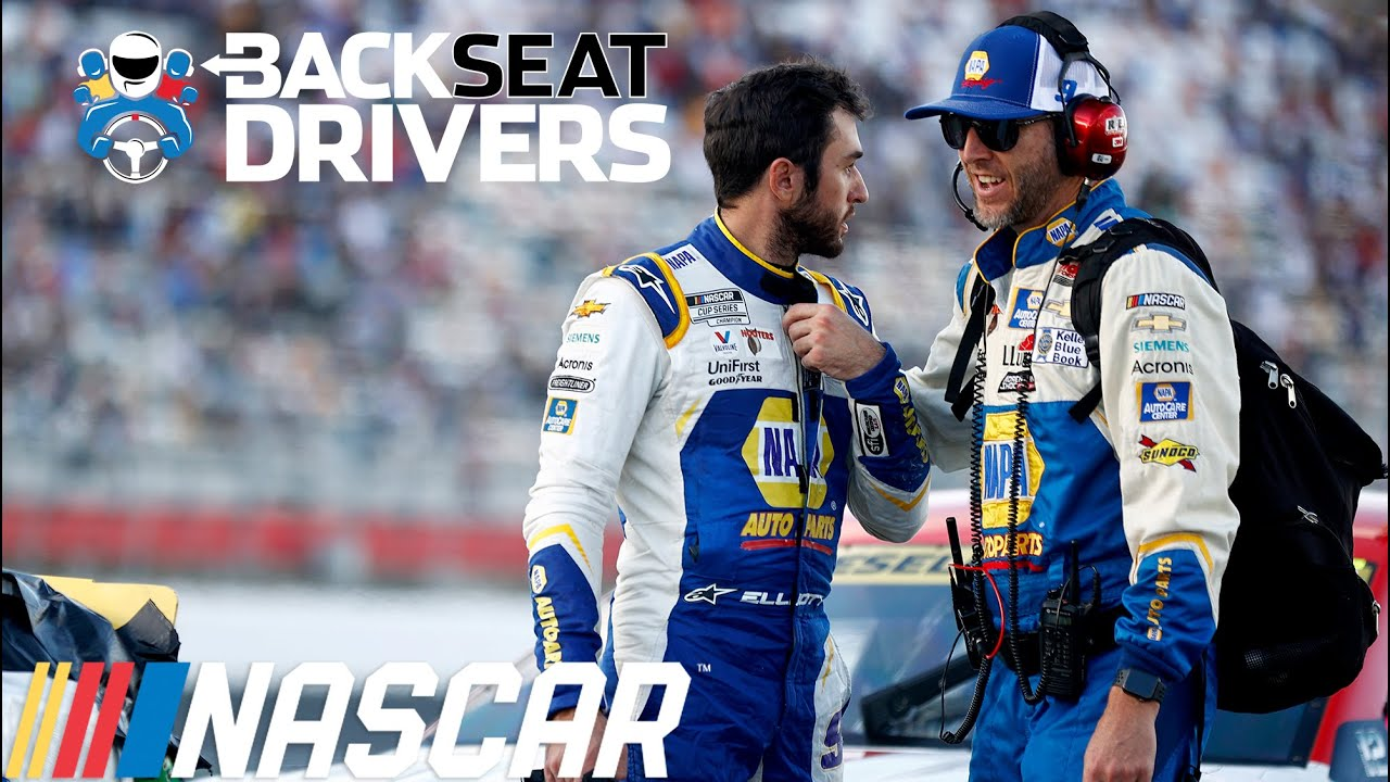 So, is it over? Backseat Drivers debate Chase Elliott vs. Kevin Harvick and discuss Larson's 7th win