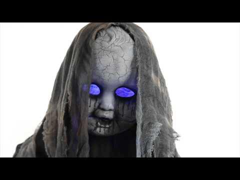 Creepy Rising Animated Doll - Spirit Halloween