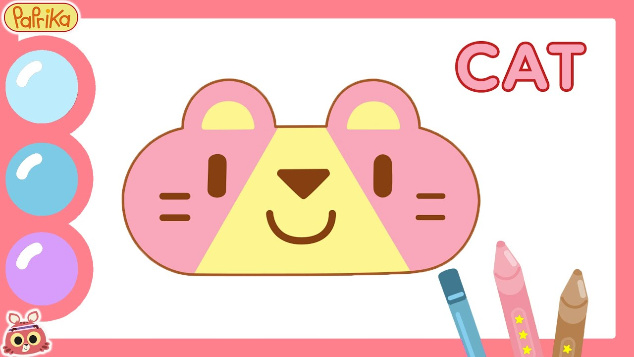 😻 CAT 😻 HOW TO DRAW A CAT   Learn how to draw