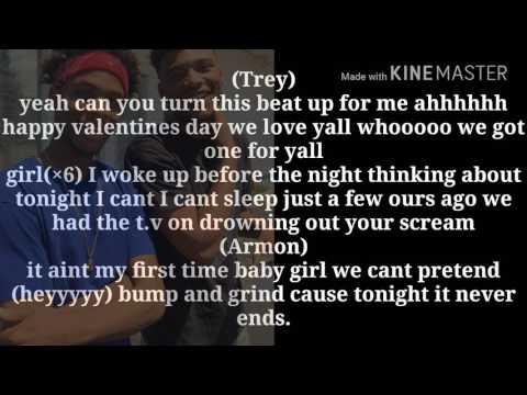 Armon and trey come thru, take you down, slow motion lyrics