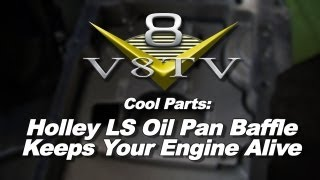 Holley LS Road Race Oil Pan Baffle Install Video V8TV