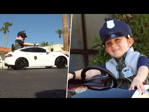 Ken Payne - 5 Year-Old Starts Patrolling The Neighborhood After His Toy Car Is Stolen