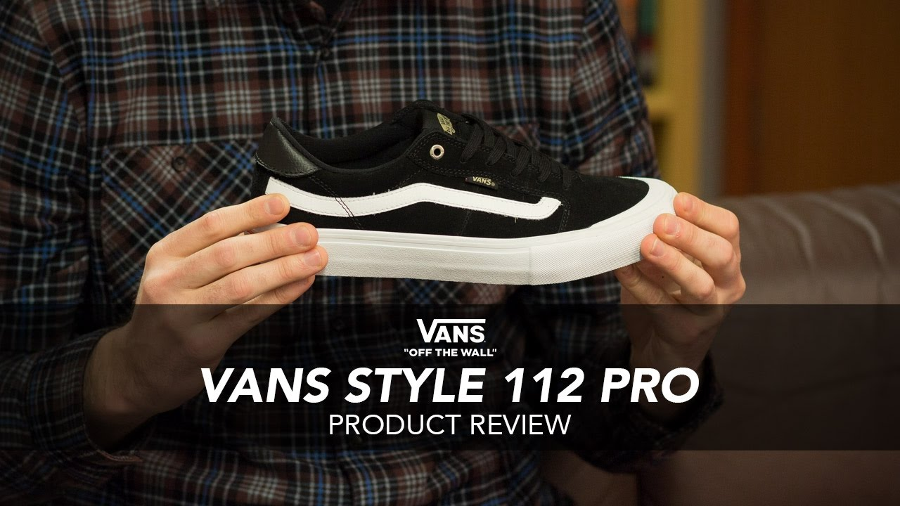 79dc53b9fde43e Vans Style 112 Pro Skate Shoe Review - Rollersnakes.co.uk - YouTube