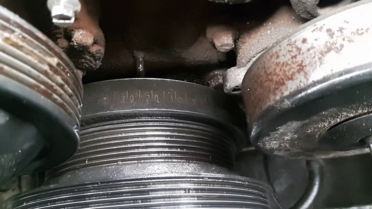 c200 kompressor Install timing chain