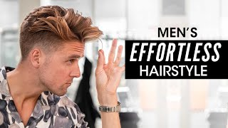 Effortless Hairstyle for Men - Step by Step Hair Tutorial