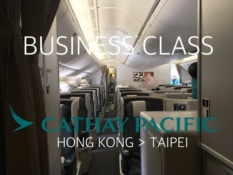 #28 [Cathay Pacific] Best regional flight Business Class experience - Small details, great flight