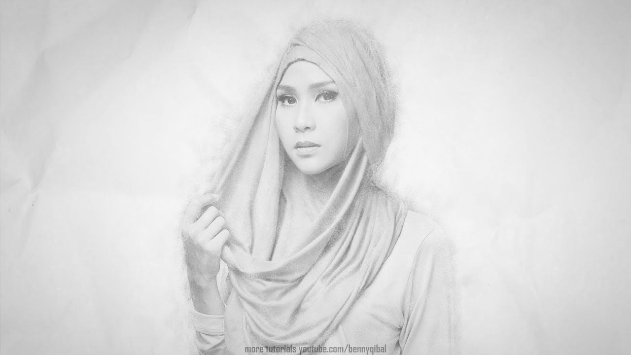 Pencil sketch effect photoshop tutorial