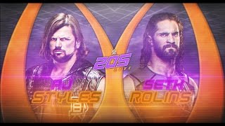 COMO HACER CUSTOM DE WWE 205 LIVE PSD Y PARTES BY Jika and Marlon Designs