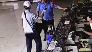 Security Guard Takes the Fight to Robber I Active Self Protection