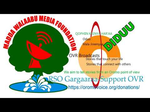 Oromo Voice Radio (OVR) Broadcasts- 21 March 2018