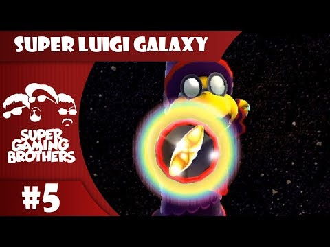 SGB Play: Super Luigi Galaxy - Part 5 | Space Pirates?