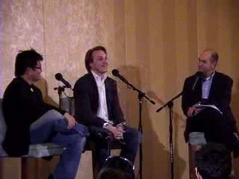 YouTube founders Chad Hurley & Steve Chen (5/23/07)