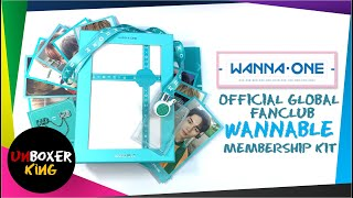 Wanna One 워너원  Official Global Wannable Fanclub Membership K…