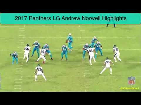Andrew Norwell 2017 Highlight Tape