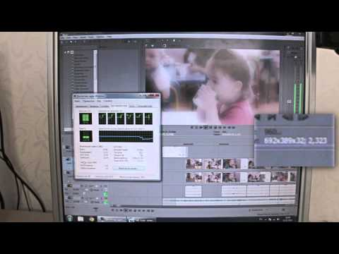 видеокарта рендеринг sony vegas