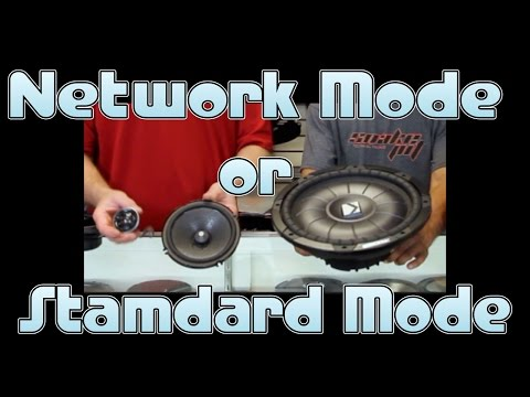 Do I chose Network Mode or Standard Mode on my new radio