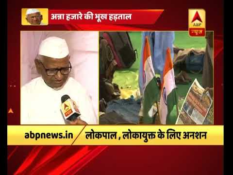 Anna Hazare on hunger strike for farmers, loses 3 Kgs within 4 Days