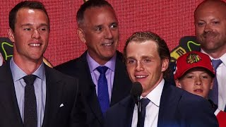 Toews, Kane select Jokiharju for Blackhawks at 29th overall