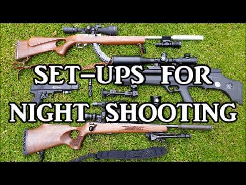 Options For Shooting At Night (Lamping)