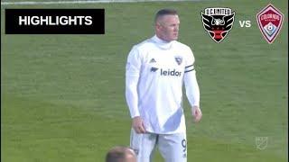 Wayne Rooney vs Tim Howard Highlights | D.C. United vs Colorado Rapids 13/04/2019