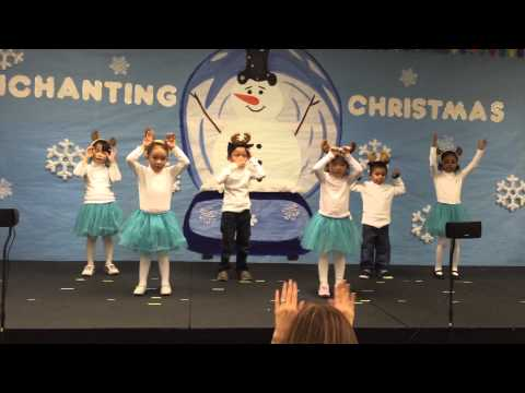 School of Little Scholars Christmas Program Pre-K Puppies