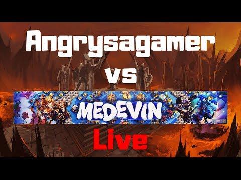 Guild Wars Vs YoutubeMedevin  | Live Stream | Castle Clash
