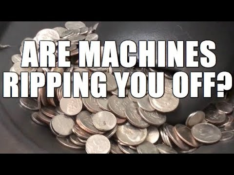 Is Our Bank's Coin Sorting Machine Accurate? Dealing With A Grouchy Bank Teller
