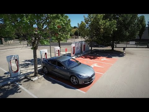 Viaje Barcelona-Bruselas (1.350 km) en Tesla Model S - parte 2