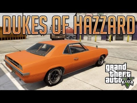 The Dukes of Hazzard General Lee (Declasse Vigero) : GTA V Custom Car Build