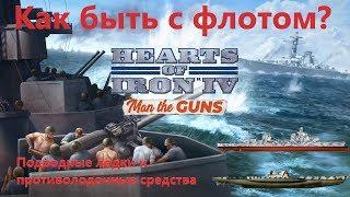 Флот, подлодки и противолодочная оборона в Hearts of Iron IV: Man the Guns