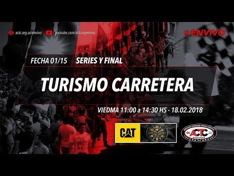 01-2018) Viedma: Domingo Series TC y Finales