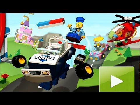 LEGO Juniors Create \u0026 Cruise #2 мультики игра для детей про Лего машинки мультик на русском языке