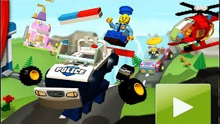 LEGO Juniors Create & Cruise #2 мультики игра для детей про Лего машинки мультик на русском языке