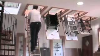 Чердачная лестница OMAN Termo Prima(Краткий обзор чердачной лестницы OMAN Termo Prima. Подробнее на сайте www.trikirpicha.com (Три кирпича - поиск строительных..., 2014-04-15T08:45:44.000Z)