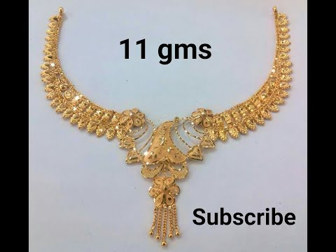 Gold Necklaces Designs With Weight