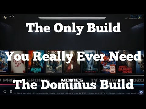THE BUILD SO GOOD, YOU WON'T WANT ANOTHER! DOMINUS/INFUSION