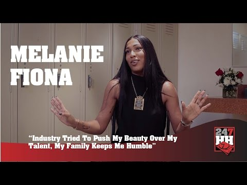 Melanie Fiona - This Industry Tried To Get Me To Push My Beauty Over My Talent (247HH Exclusive)