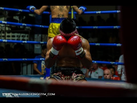 Low Kick War!! Watch till the end! Patong Boxing Stadium, 18th December 2017
