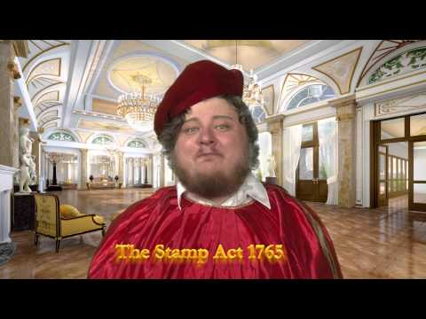 The Stamp Act of 1765 - King George III Announcement
