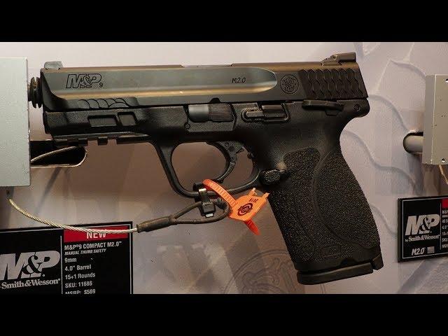 Smith & Wesson M&P 2.0 Compact – Matt Spafford – SHOT Show 2018