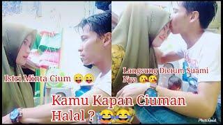 CIUMAN TIK TOK PALING ROMANTIS 2020 ~ Kissing Romantis Story Wa Indonesia