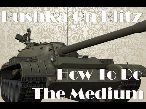 World of Tanks Blitz   Medium Tanks Driving Guide