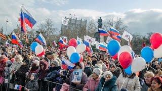 Обращение Путина Севастополь годовщина воссоединения с Россией