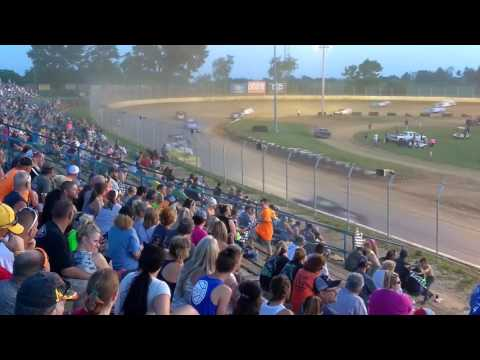 Super late models feature at Florence speedway 6/17/17