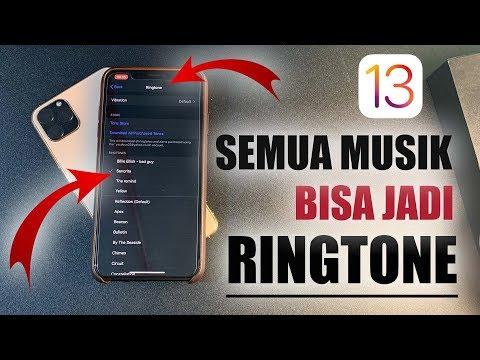iOS 13 - Bikin Semua Musik Menjadi Ringtone di iPhone.