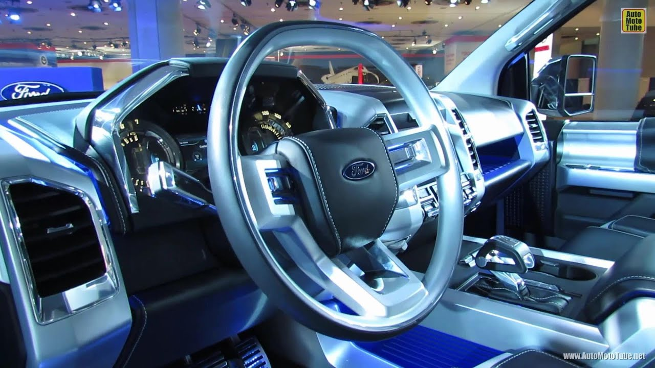 2015 Ford F150 Atlas Concept  Interior Walkaround  2013 New