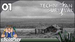 Technicians' Survival 2 w/ cScot : Ep 01 – Getting Started
